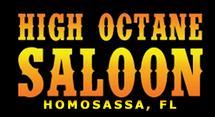 High Octane Saloon Logo