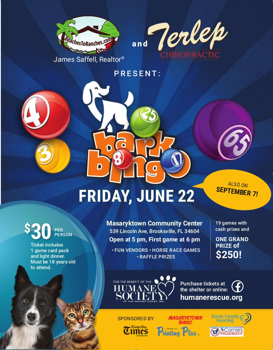 Bark Bingo Flyer